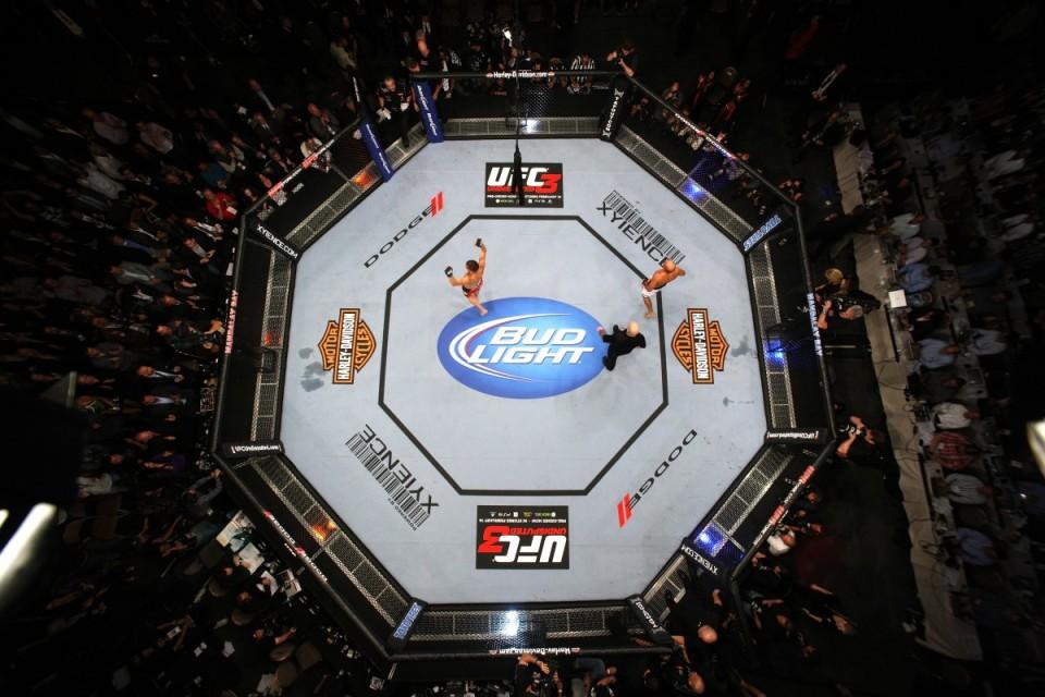 Ring (ottagono) di MMA UFC