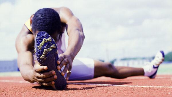 Un esercizio di stretching