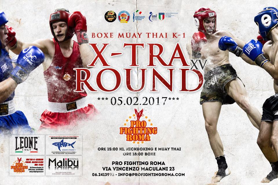 X-Tra Round 15 / 5 Febbraio 2017